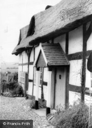 Wistanstow, The Old Forge c.1960