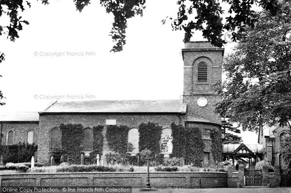 Photo of Wistaston, St Mary's Church c.1955