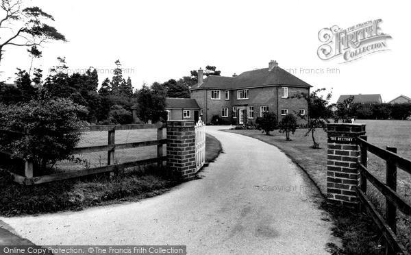 Photo of Wistaston, The Rectory c.1960
