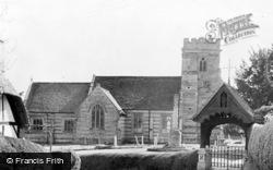 Church c.1950, Witchampton