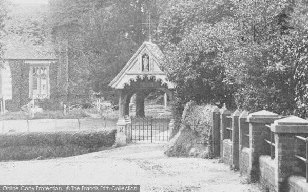 Photo of Witchampton, Lychgate 1904