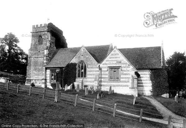 Photo of Witchampton, St Mary And St Cuthberga's Church 1904