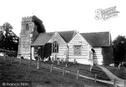 Witchampton, St Mary And St Cuthberga's Church 1904