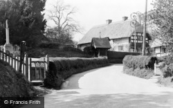 Witchampton, Village And Church Gate c.1950