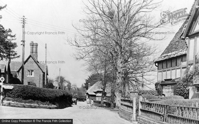 Photo of Witchampton, Village c.1950