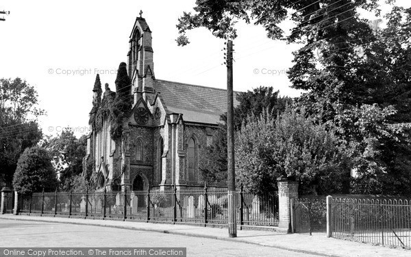 Photo of Witham, All Saints Church c.1955