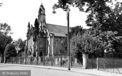 Witham, All Saints Church c.1955