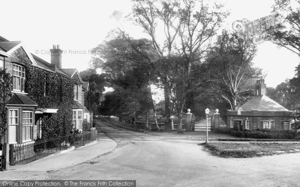 Photo of Witham, Avenue Entrance 1900