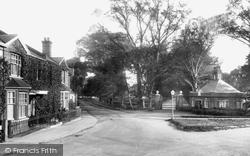 Witham, Avenue Entrance 1900