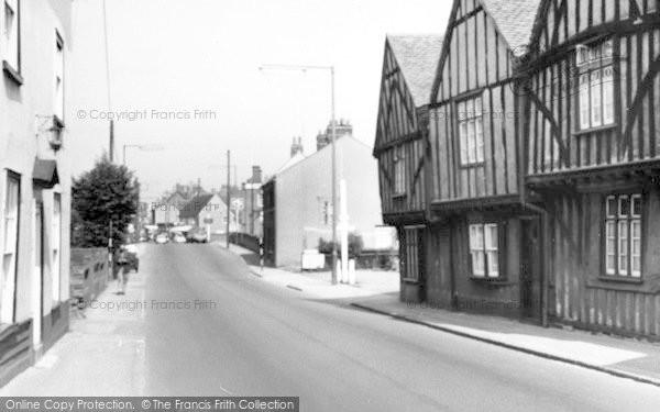 Photo of Witham, Bridge Street c.1960