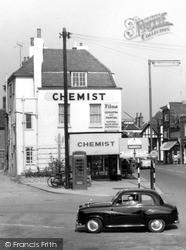 Witham, Chemists c.1955