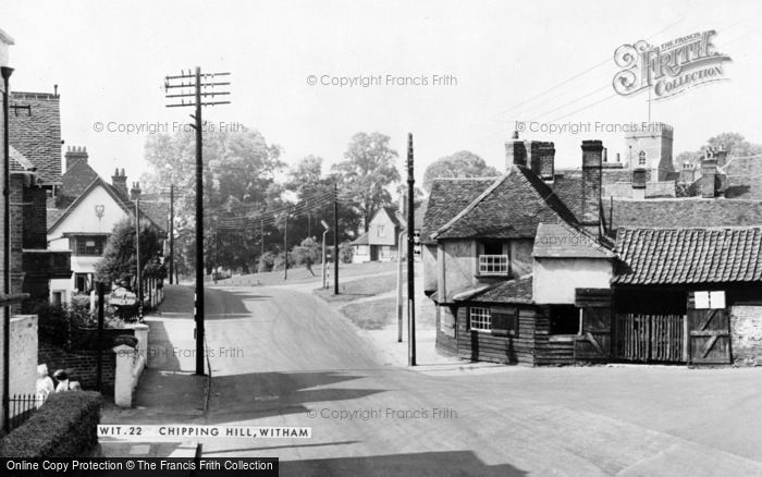Photo of Witham, Chipping Hill c.1960