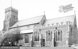 Chipping Hill Church c.1960, Witham