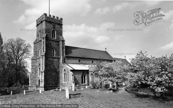 Photo of Witham, Chipping Hill Church c.1960