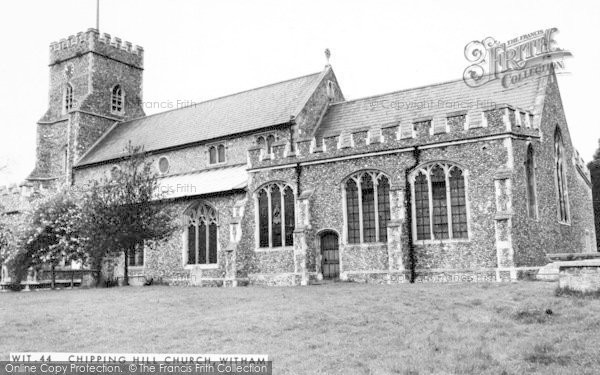 Photo of Witham, Chipping Hill Church c.1965