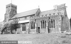 Chipping Hill Church c.1965, Witham