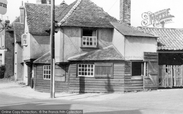 Photo of Witham, Chipping Hill Forge c.1955