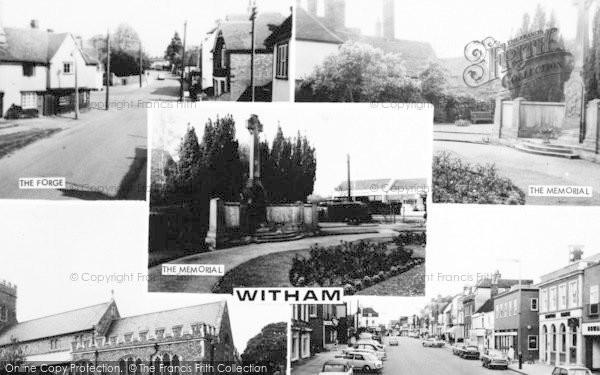 Photo of Witham, Composite c.1965