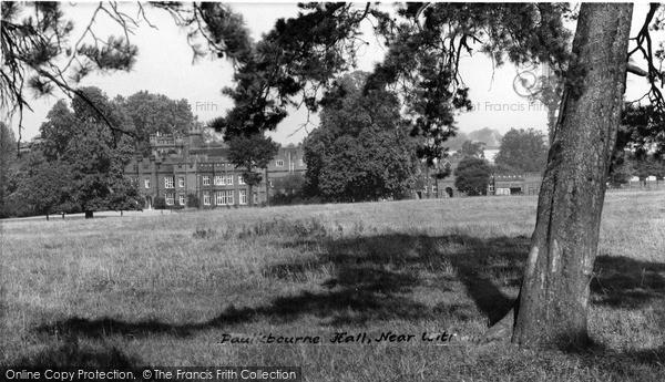 Photo of Witham, Faulkbourne Hall c.1960