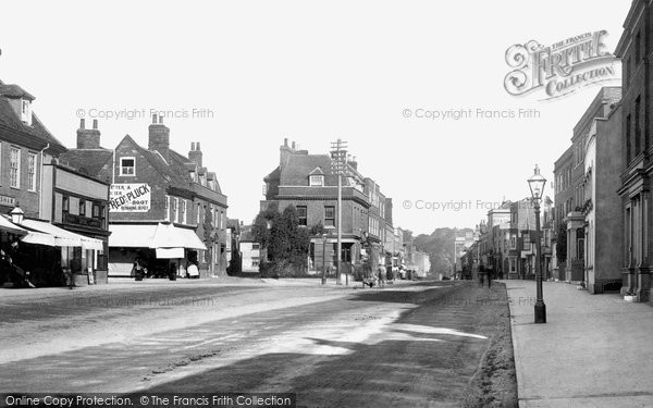 Witham, High Street 1900.  (Neg. 46225)  © Copyright The Francis Frith Collection 2005. http://www.frithphotos.com