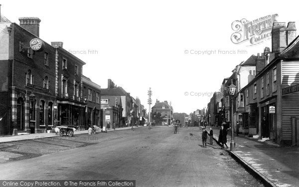 Photo of Witham, High Street 1900