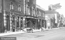 Witham, High Street Businesses 1900