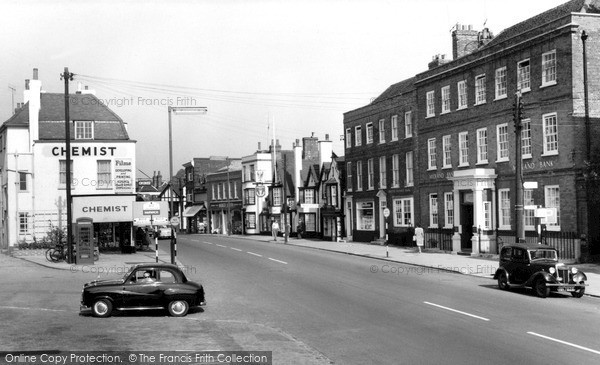 Photo of Witham, High Street c.1955
