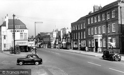 Witham, High Street c.1955