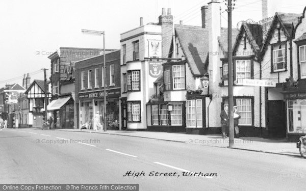 Photo of Witham, High Street c.1960