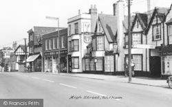 Witham, High Street c.1960