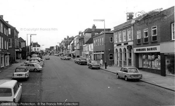 Photo of Witham, High Street c.1965
