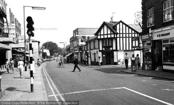 Photo of Witham, High Street c1968, ref. w119062