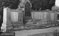 Witham, Names On War Memorial c.1965