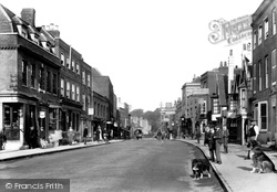 Witham, Newland Street 1900