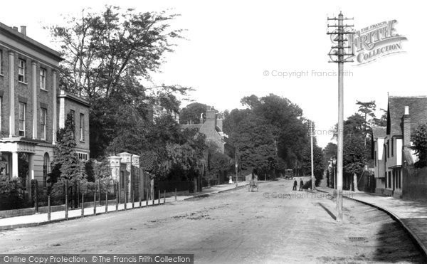 Photo of Witham, Newland Street 1900
