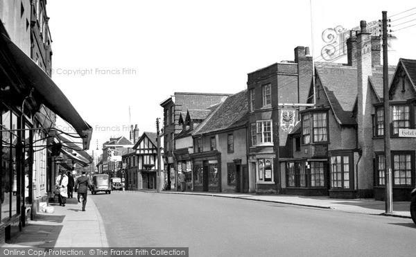 Photo of Witham, Newland Street c.1955