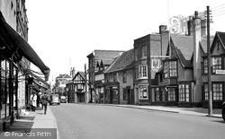 Witham, Newland Street c.1955