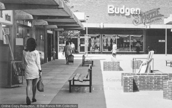 Photo of Witham, Newlands Arcade, Budgen c.1968