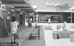 Witham, Newlands Arcade, Budgen c.1968