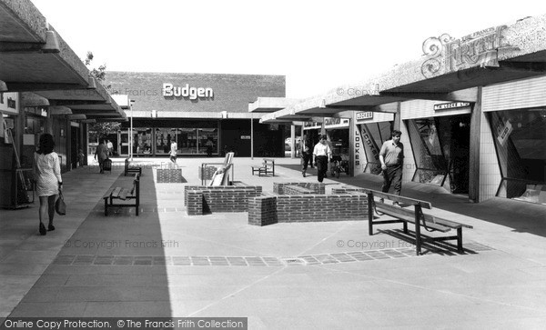 Photo of Witham, Newlands Arcade c.1968