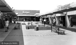 Witham, Newlands Arcade c.1968