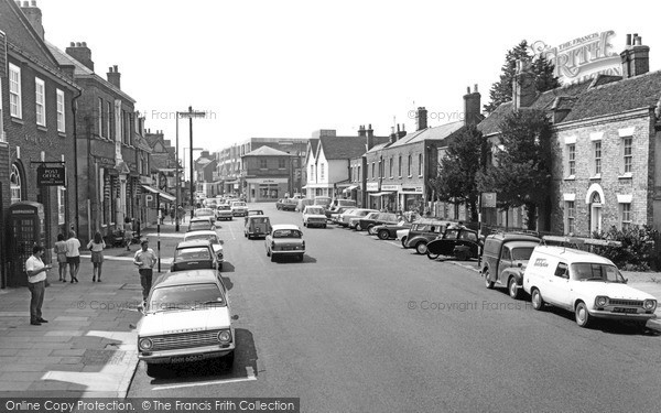 Photo of Witham, Newlands Street c.1968