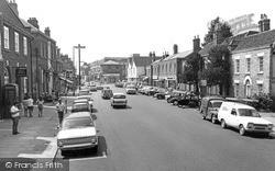 Witham, Newlands Street c.1968
