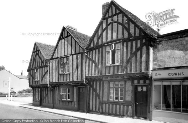 Photo of Witham, Old Houses, Bridge Street c.1955
