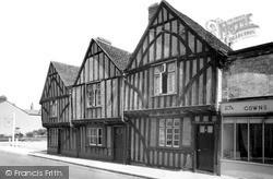 Witham, Old Houses, Bridge Street c.1955