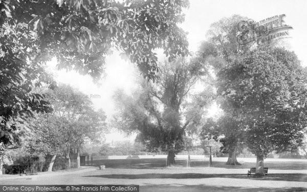 Photo of Witham, Recreation Ground 1900