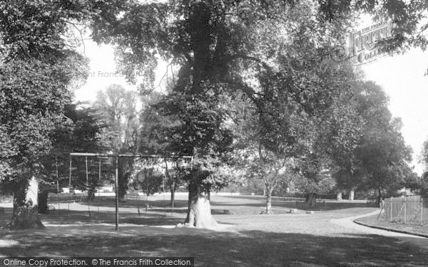 Photo of Witham, Recreation Ground 1900