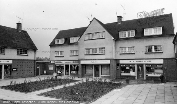 Photo of Witham, Shopping Parade, Church Street c.1965