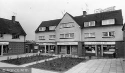 Witham, Shopping Parade, Church Street c.1965