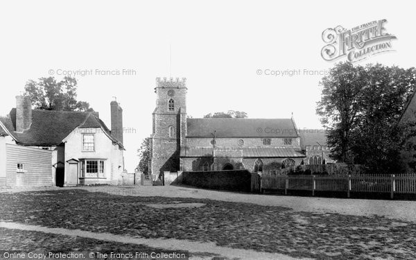 Photo of Witham, St Nicolas' Church 1900